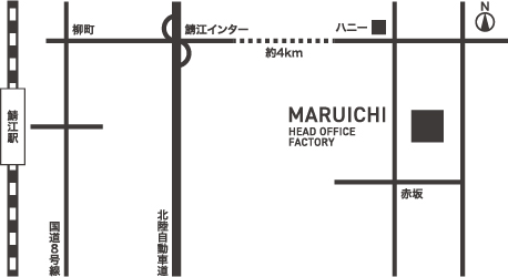 HEAD OFFICE FACTORY & FUKUI SHOWROOM